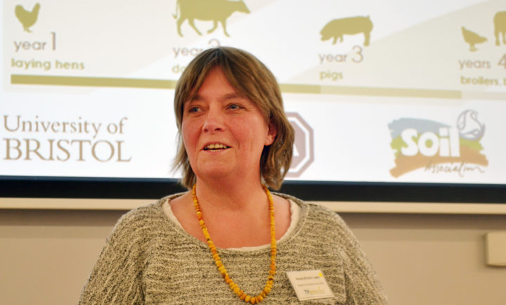 Seniorforsker Anne- Kristin Løes (Foto: TP- Organics)