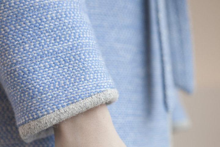 Krivi Vev vil erstatte syntetiske materialer med nedbrytbar og miljømerket norsk ull i bekledning og interiørstoffer (Foto: Krivi Vev)