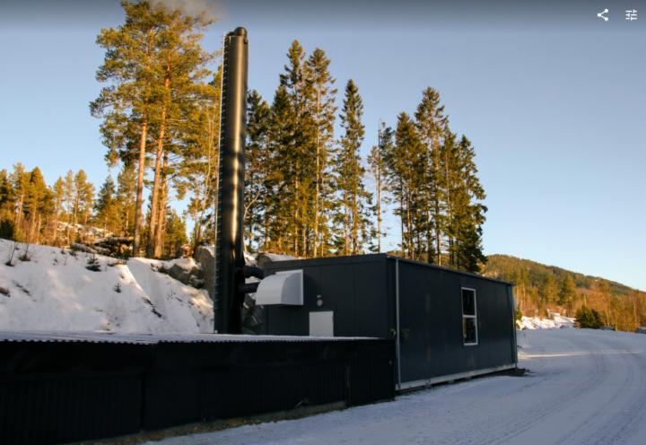 Flisfyring kan være et godt supplement til biogass. (Foto: Maria Berg Hestad)