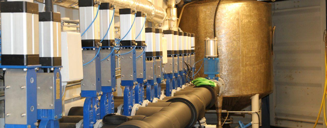 Testanlegg for biogass. (Photo: Anita Land)