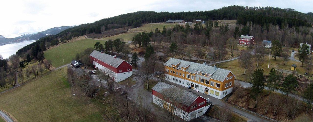 Tingvoll Gard er NORSØKs hovedkvarter