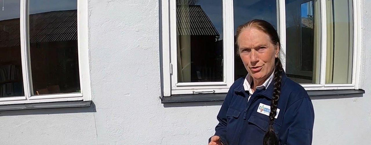 Kirsty Mckinnon har stått for forsøkene utført av NORSØK  (Foto: Vegard Botterli )